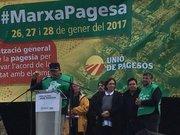 Presidencia del Final de la Marcha por la Digindad del CAMPO