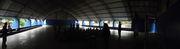 Exposição Oficina UHE Teles Pires na Escola Municipal Juscelino Kubitschek em Paranaíta/MT.