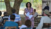 Maria Clara Migliacio, IPHAN, reunião Aldeia Kayabi Kururuzinho