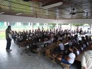 Exposição Oficina UHE Teles Pires na Escola Estadual Mário Corrêa