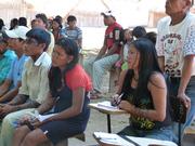 Comunidade, reunião na Aldeia Kayabi Kururuzinho