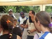 Exposição Oficina UHE Teles Pires na Escola Municipal Cristo Redentor em Paranaíta / MT