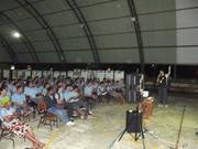 Exposição Oficina UHE Teles Pires na Escola Estadual João Paulo e Escola Nossa Senhora das Graças em Paranaíta/MT