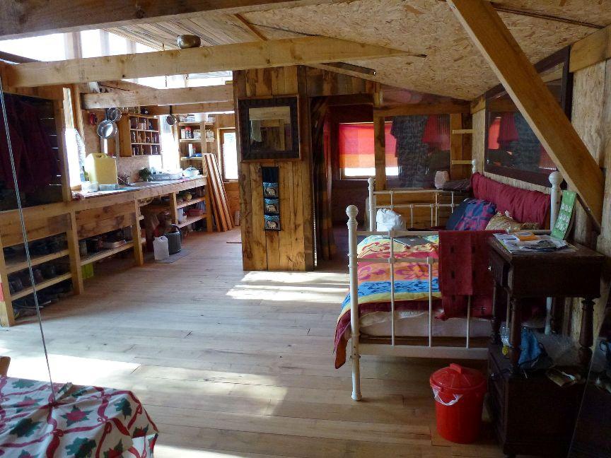 Intérieur de la maison de 50 m2