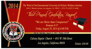 The Word of God International University 2014 Banquet Ticket