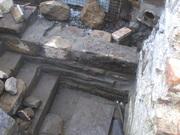 průběh rekonstrukce - spodní část