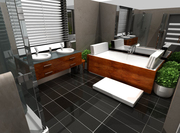 Vizualizace koupelna Brno Tuřany