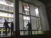 (08-2011) Tišnov - Montáž oken Tělocvična ZŠ