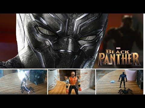 The Intruder- Black Panther Stop Motion Short Film