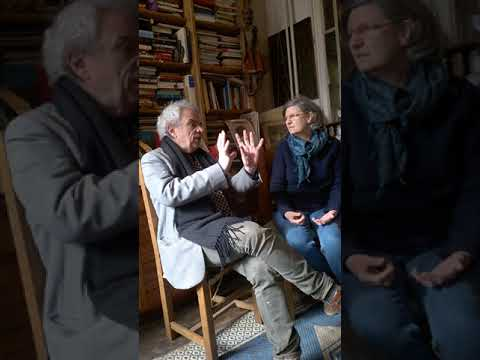 Jacques  Halbronn  Iere Partie de l'entretien avec Françoise Mairal Les méditations etc.