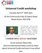 Universal Credit Workshop