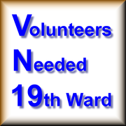 Volunteers needed with 19thward projects