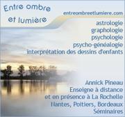 Entre ombre et lumière - Astrologie-Graphologie-Sciences humaines