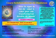 Cours hebdomadaires de Biodanza