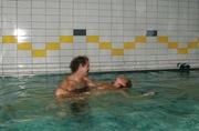 Eau chaude en piscine