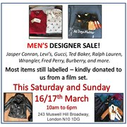 Men's Designer Sale - All Dogs Matter Charity Shop