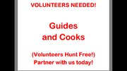 AMR Volunteer Guides and Cooks