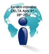 LONDON intensive CELTA course April 3rd - April 28th (+ Saturday April 8th) 2017
