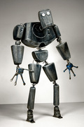 Silver Robot [Front View]