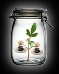 Six Money Jars