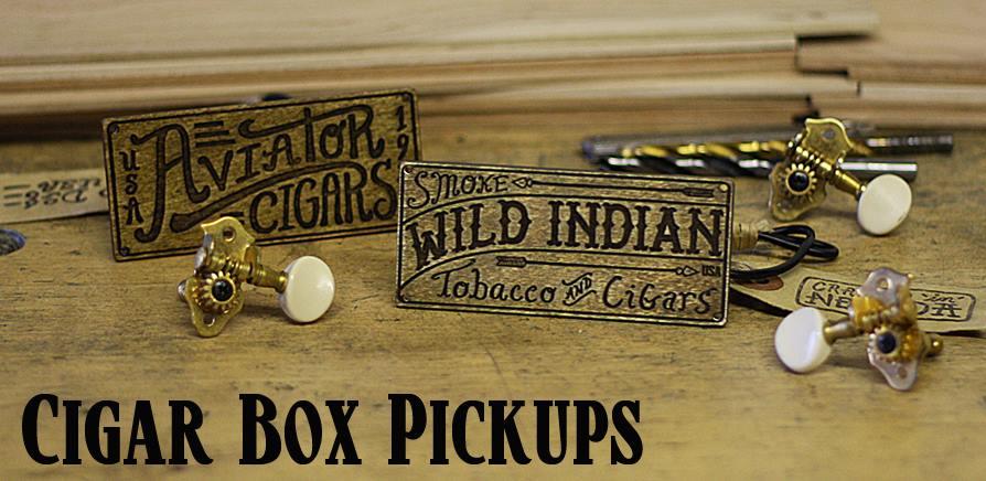 - Cigar Box Guitar Pickups -
