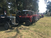 At Kernot with the Ferguson Tractor Club!