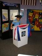 Vote Exhibit - boy speaker
