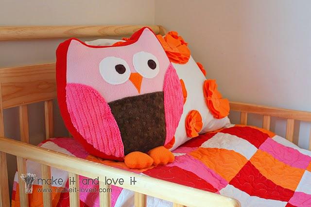 Snuggly Owl Tutorial & Pattern