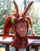 Riley's Dragon Costume—The Head