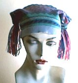 """Another Upcycled """"Jester"""" Hat"""
