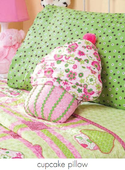 Sweet Cupcake Pillow Pattern