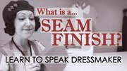 Learn to Speak Dressmaker with Evelyn Wood