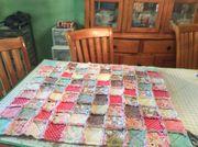 Baby present Rag quilt