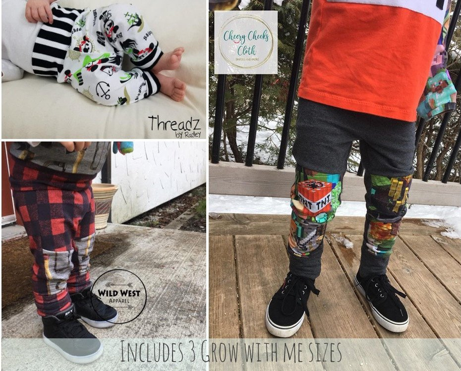 Save Money with Grow Along PDF Sewing Patterns for Kids