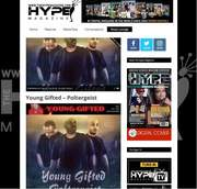 HYPE MAGAZINE IS FEATURING POLTERGEIST BY YOUNG GIFTED
