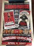 Grindhouse Signed by Five Cast