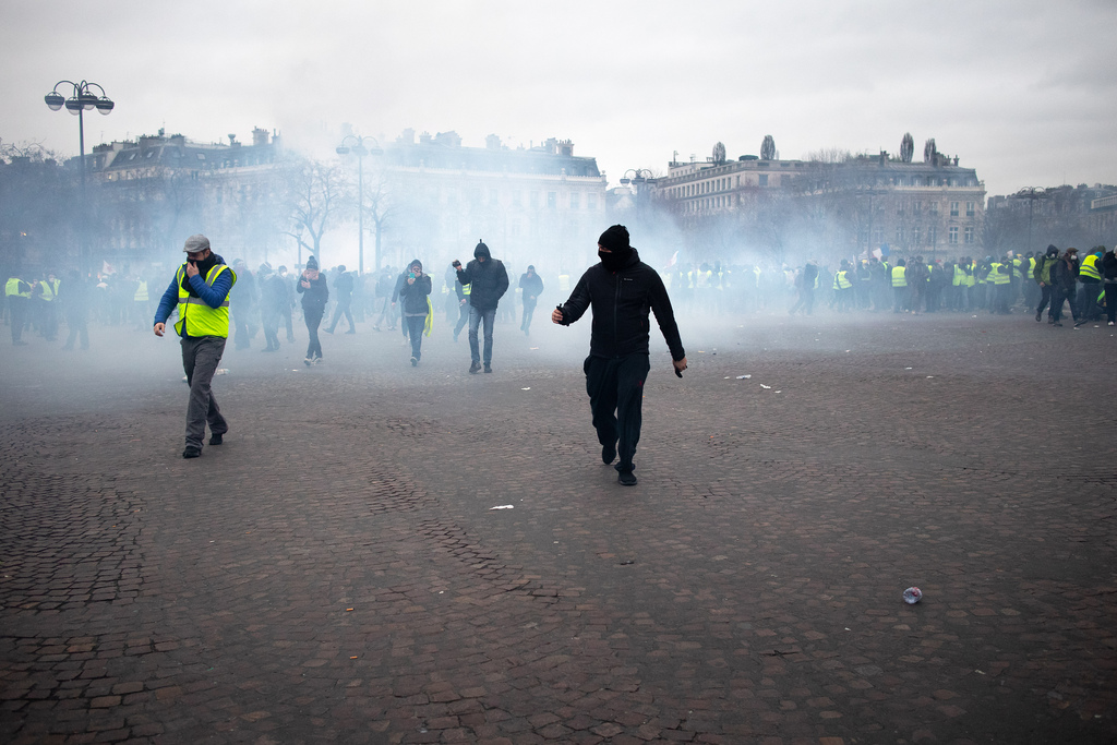 Yellow Vest Protest in France Continues