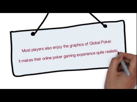 Global poker leads the roster of online poker sites