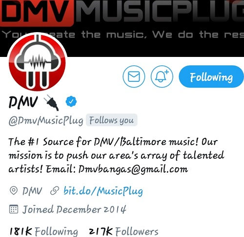 BIG UP TO...DMV YOUNG GIFTED APPRECIATES ALL YOUR SUPPORT!! #BigMoves