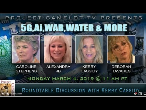 ROUNDTABLE RE AI, 5G, WARS & WATER
