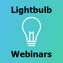 Click here for Lightbulb Moment webinars