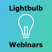 Click here for Lightbulb Moment webinars