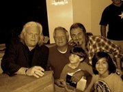 Ricky, Papaw, Me, Gene and JD