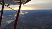 Sunset over the Columbia River