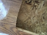 Only the finest materials used!! Chipboard!!