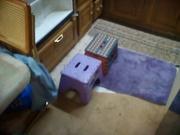 Using step stools