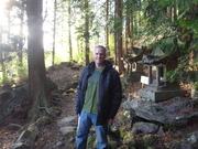 Robert Dakota at nature shrine