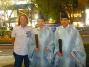 Robert & Shinto Priests