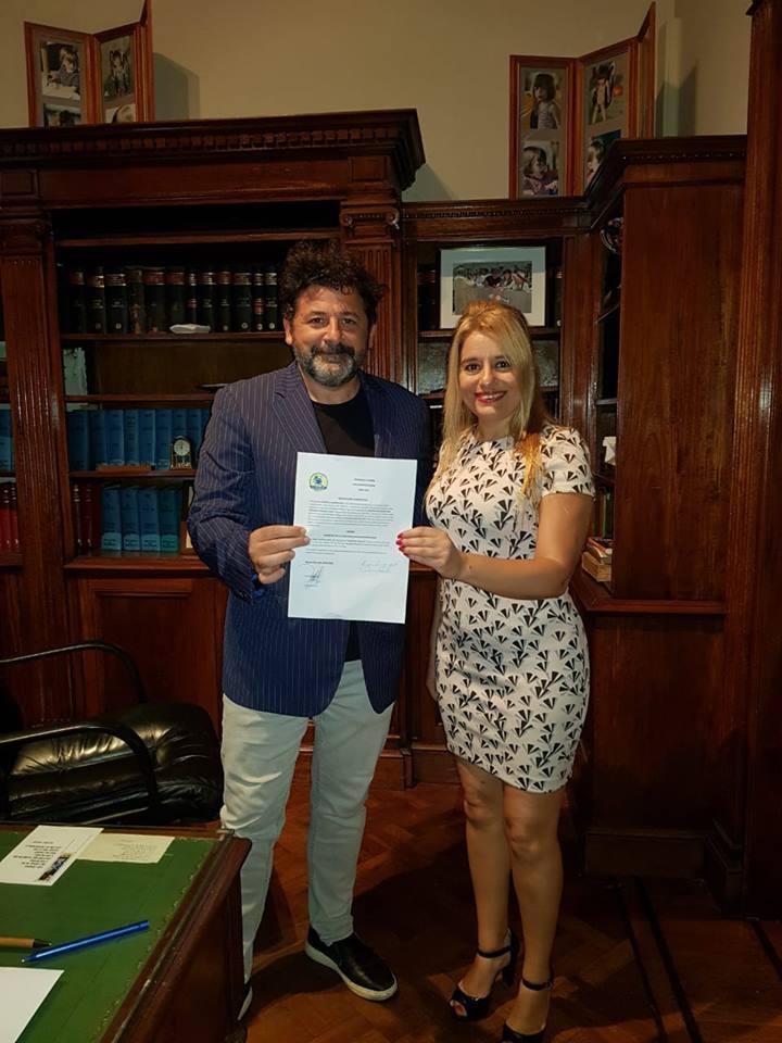 Primera mujer argentina de origen italiano representará al Partido U.S.E.I. en Buenos Aires.