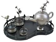 Identity teapot for metal